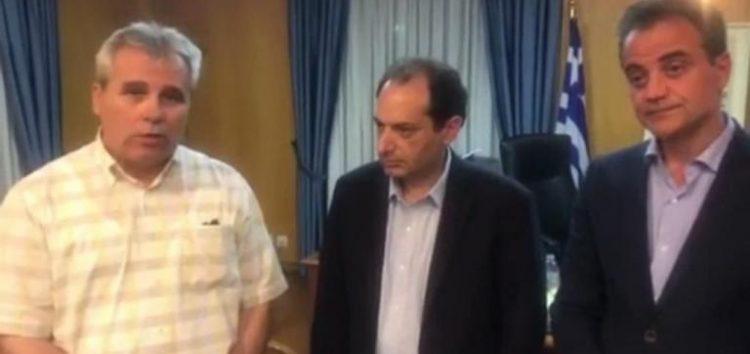 Ταύτιση απόψεων του υπουργού Χρ. Σπίρτζη με τους Περιφερειάρχες Β. Ελλάδας στο θέμα των διοδίων