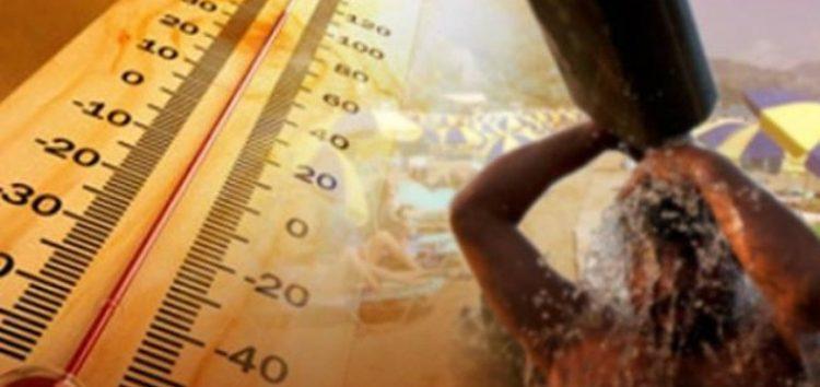 Οδηγίες για την αντιμετώπιση των υψηλών θερμοκρασιών
