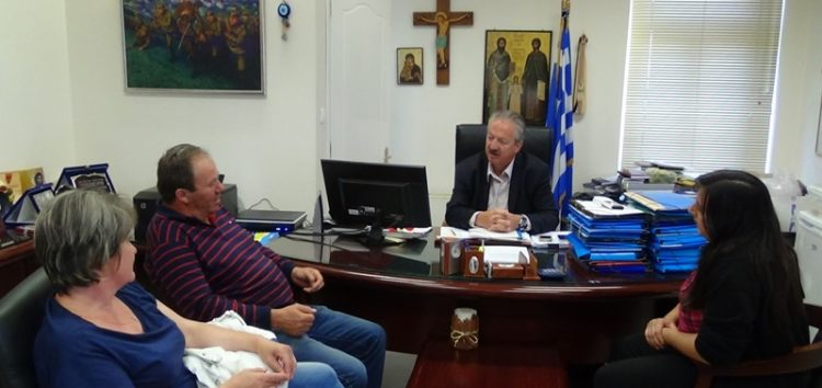 Συνάντηση του δημάρχου Φλώρινας με το σύλλογο γονέων και κηδεμόνων του δημοτικού σχολείου Ιτιάς