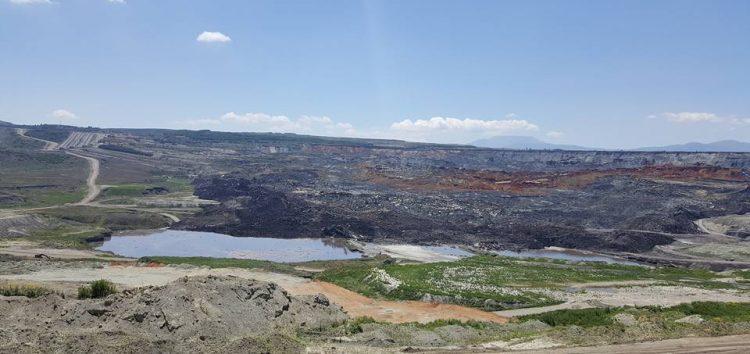Η στιγμή της κατολίσθησης στο ορυχείο Αμυνταίου! (video, pics)