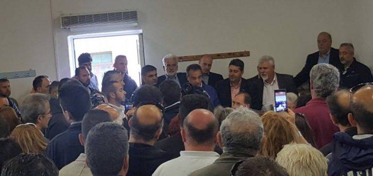 Την άμεση αναγκαστική απαλλοτρίωση της Τ.Κ. Αναργύρων, υπέρ του δημοσίου, ανακοίνωσε ο υπουργός Περιβάλλοντος Γ. Σταθάκης