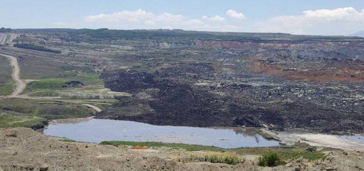 Ανακοίνωση της ΔΕΗ για απαγόρευση προσέλευσης στο χώρο του ορυχείου Αμυνταίου