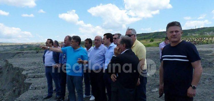 Κ. Σκρέκας: «Η Κυβέρνηση οφείλει να σταθεί στο πλευρό κατοίκων και εργαζομένων στο ορυχείο Αμυνταίου» (video, pics)