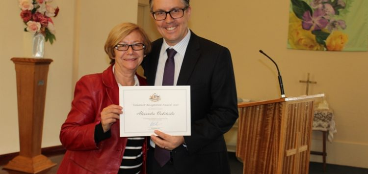 Συγχαρητήριο του βουλευτή Γιάννη Αντωνιάδη προς την Αλεξάνδρα Βακιτσίδου
