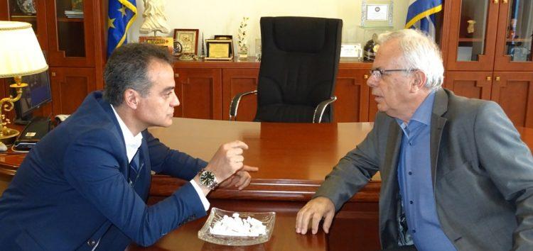 Συνάντηση Περιφερειάρχη Δυτικής Μακεδονίας με τον Υπουργό Αγροτικής Ανάπτυξης