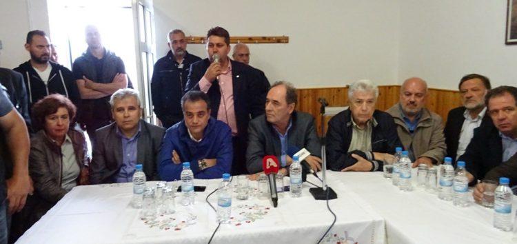 Την αναγκαστική απαλλοτρίωση των Αναργύρων ανακοίνωσε ο Γ. Σταθάκης – «Κάνουμε το τελικό βήμα» δήλωσε ο Θ. Καρυπίδης