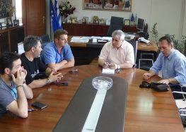Συνάντηση του Αντιπεριφερειάρχη Π.Ε. Φλώρινας με το Δ.Σ. του Μελιτέα Μελίτης για το 2ο Meliti Beer Festival