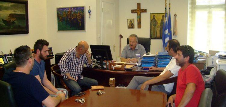 Συνάντηση του δημάρχου Φλώρινας με τους συμβασιούχους του δήμου και τη διοίκηση του ΕΚΦ