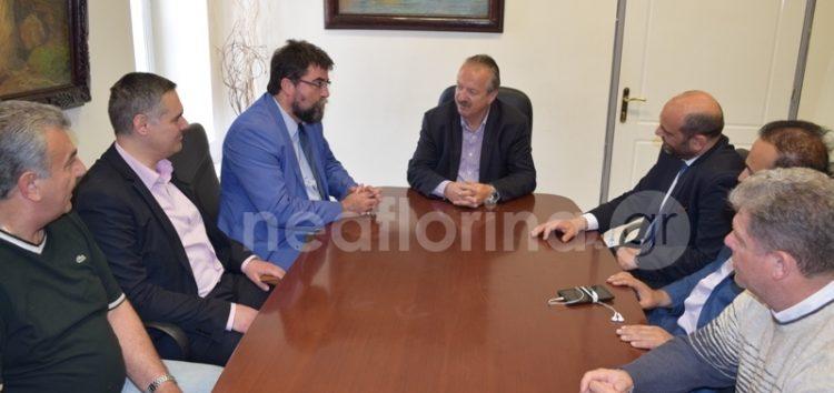 Επίσκεψη των τομεαρχών Υγείας της Ν.Δ. στο δήμαρχο Φλώρινας (video, pics)