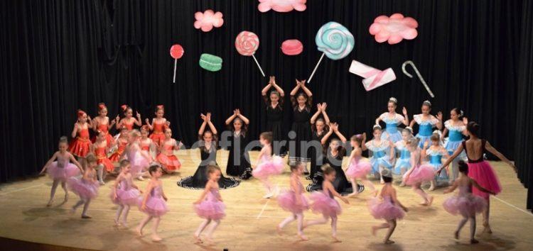 «Στη χώρα των ζαχαρωτών» από το τμήμα χορού του ΠΑΣ Φλώρινα (video, pics)