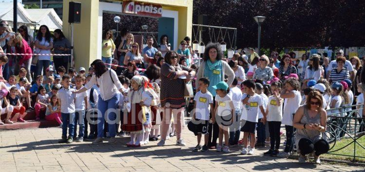 «Πάρε τη ζωή στα χέρια σου» από τα νηπιαγωγεία και τα δημοτικά σχολεία της Φλώρινας (video, pics)
