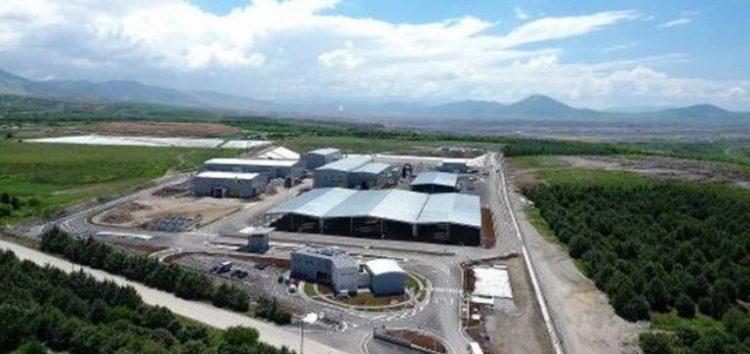 Ξεκίνησε η λειτουργία της Μονάδας Επεξεργασίας Απορριμμάτων Δυτικής Μακεδονίας