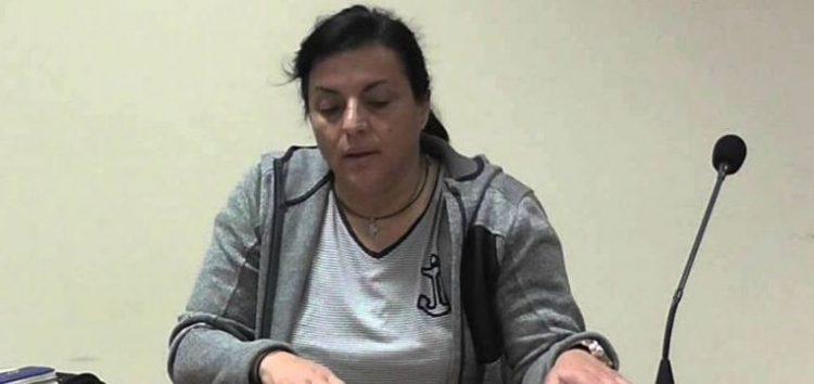 Η πρόεδρος του Αγροτικού Συλλόγου Αμυνταίου στη συνεδρίαση της Πανελλαδικής Επιτροπής Μπλόκων