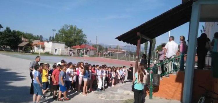 Η γιορτή για τη λήξη της σχολικής χρονιάς στο δημοτικό σχολείο Μελίτης (video)