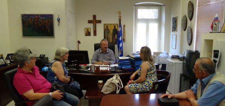 Συνάντηση του δημάρχου Φλώρινας με τον Σύλλογο Γονέων και Κηδεμόνων Ατόμων με Αναπηρία