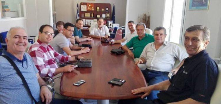 Επιχειρηματίες από τη FYROM επισκέφτηκαν το Επιμελητήριο Φλώρινας
