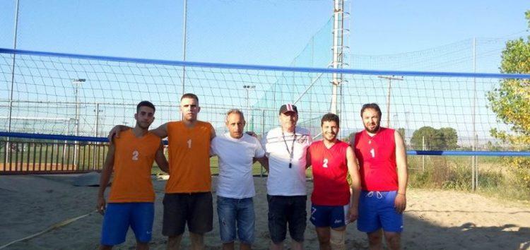 Ολοκληρώθηκε το τουρνουά beach volley στο Tsotakis Place