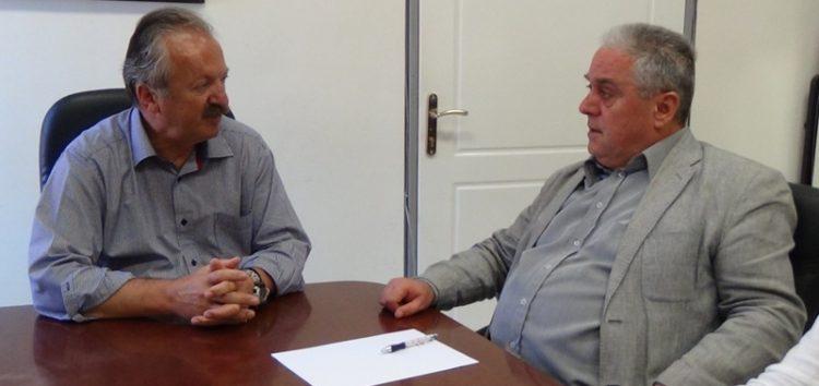 Συνάντηση του δημάρχου Φλώρινας με τον Γ.Γ. Συντονισμού Διαχείρισης Αποβλήτων του Υπουργείου Εσωτερικών
