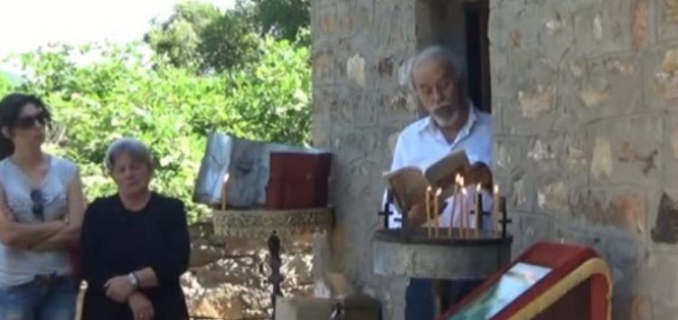 Το ολοκαύτωμα του χωριού τίμησαν οι κάτοικοι της Δροσοπηγής στο Παλιό Χωριό (video)