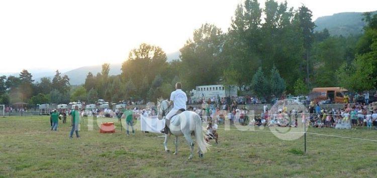Ένα ξεχωριστό show αλόγων στη Φλώρινα (video, pics)
