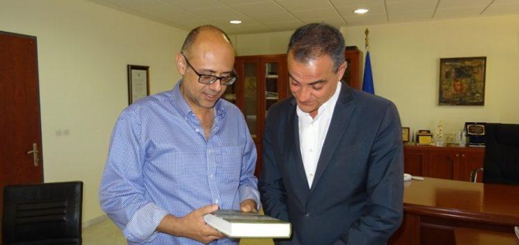 Επίσκεψη του Γενικού Πρόξενου της Κύπρου στη Θεσσαλονίκη, στον Περιφερειάρχη Θ. Καρυπίδη