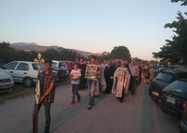 Πλήθος πιστών στη λιτανεία του Προφήτη Ηλία Μελίτης (pics)