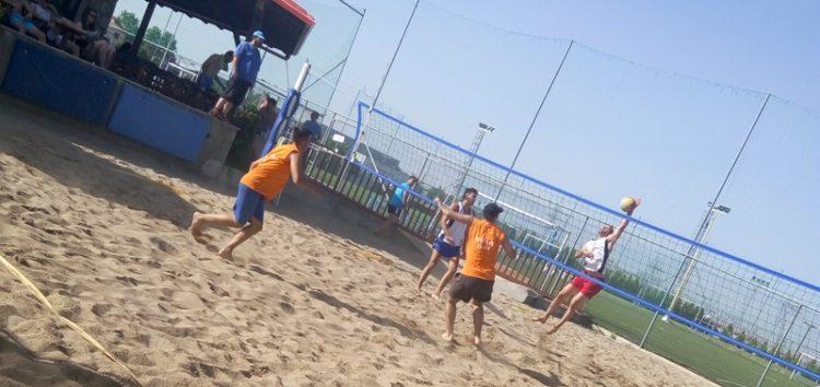 Συνεχίζεται το 3ο Τουρνουά Beach Volley στο Tsotakis Place