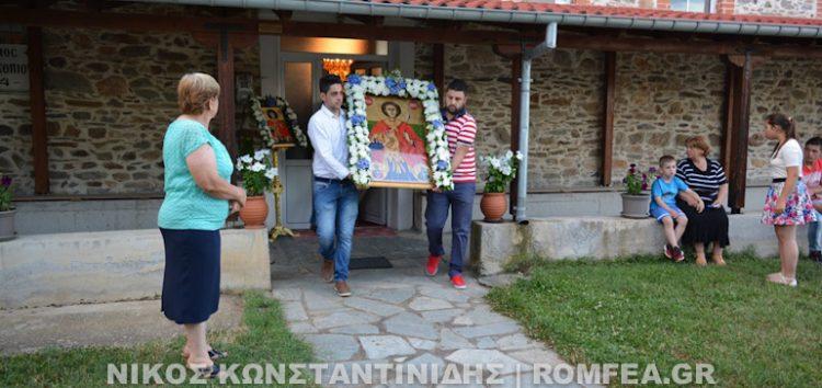Ανάμνηση εγκαινίων Ιερού Ναού Οσίου Δαβίδ Μονής Κλαδορράχης και εορτή Αγίου Προκοπίου κοινότητας Κλαδορράχης