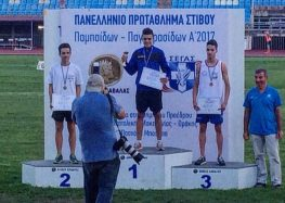 Συγχαρητήριο του βουλευτή Γ. Αντωνιάδη προς τον αθλητή Στέργιο Φίτζιο από το Λέχοβο