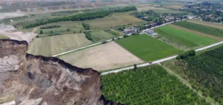 Εξέλιξη κατολισθήσεων και ρηγματώσεων εδαφών στην ευρύτερη περιοχή της κοινότητας Αναργύρων