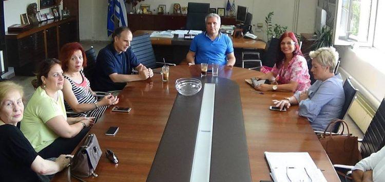 Συνάντηση του Δ.Σ. του Λυκείου Ελληνίδων με τον Aντιπεριφερειάρχη και τον Πρύτανη (pics)