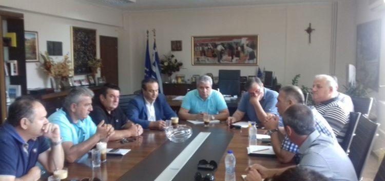 Συνάντηση του αντιπεριφερειάρχη με το νέο Διοικητικό Συμβούλιο του «Πελεκάνου» (video)