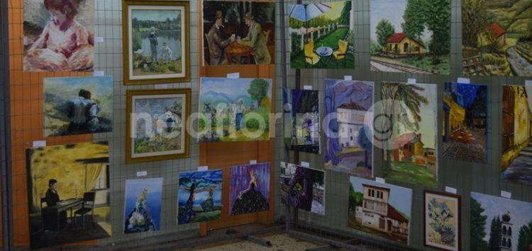 Έκθεση ζωγραφικής από το εικαστικό τμήμα του σωματείου «Λυγκηστές» (video, pics)