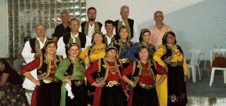 Εμφάνιση του χορευτικού του Συλλόγου Θεσσαλών στο 1ο και 2ο Δημοτικό Σχολείο Φλώρινας