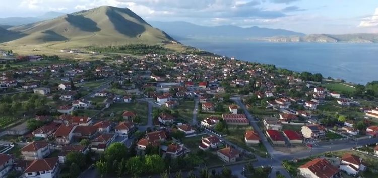 Ο Άγιος Παντελεήμονας και η Βεγορίτιδα από ψηλά (video)