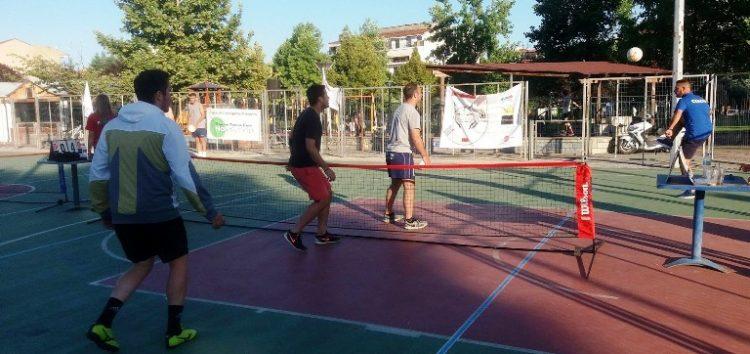 Το 1ο τουρνουά ποδοτέννις στη Φλώρινα