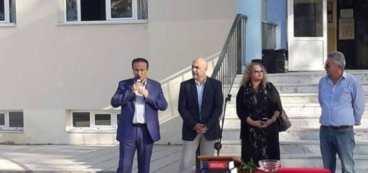 Ο βουλευτής Γιάννης Αντωνιάδης σε αγιασμούς σχολικών μονάδων του Αμυνταίου