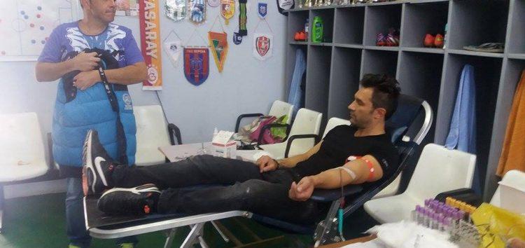 Η 2η αιμοδοσία του ΠΑΣ Φλώρινα (pics)