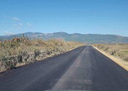 Αποκαταστάθηκε ο δρόμος στην τοπική κοινότητα Αναργύρων (pics)
