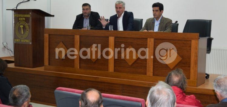 Επίσκεψη του υποψήφιου επικεφαλής της κεντροαριστεράς, Γιάννη Μανιάτη, στη Φλώρινα (video, pics)