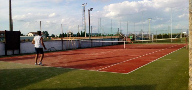 8ο Ανοιχτό Τουρνουά Τένις στο Tsotakis Place