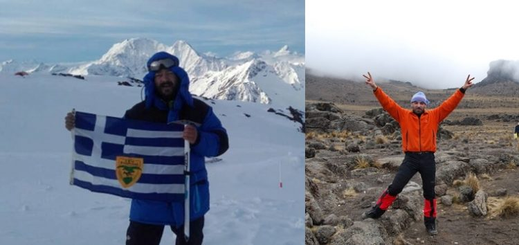 Οι Φλωρινιώτες Θόδωρος Φάτσης και Κώστας Παπακοσμάς έτοιμοι να κατακτήσουν την κορυφή Island Peak του Νεπάλ