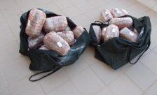 Συνελήφθησαν δύο άτομα για διακίνηση ακατέργαστης κάνναβης βάρους 32 κιλών