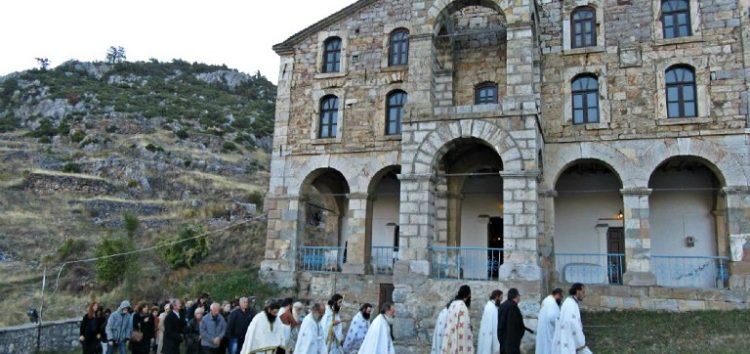 Εγκαινιάστηκε ο ιστορικός Ιερός Ναός Αγίου Γεωργίου Κρυσταλλοπηγής (pics)