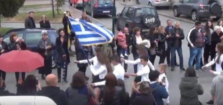 Η 28η Οκτωβρίου στο δήμο Πρεσπών (video)