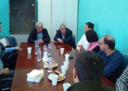 Ορκωμοσία του νέου προσωρινού διοικητή του νοσοκομείου Φλώρινας Γιώργου Χιωτίδη