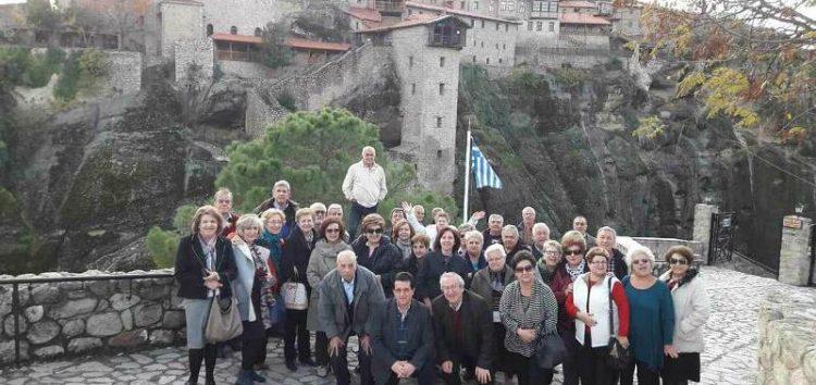 Εκδρομή των συνταξιούχων του περιφερειακού τμήματος ΟΤΕ Δυτικής Μακεδονίας