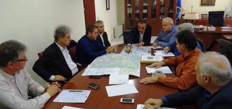 Σύσκεψη εργασίας στην Περιφέρεια για το επικείμενο άνοιγμα του μεθοριακού σταθμού Λαιμού Πρεσπών (video, pics)