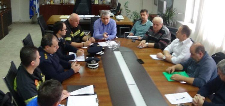 Σύσκεψη του συντονιστικού οργάνου πολιτικής προστασίας στην Π.Ε. Φλώρινας (video, pics)
