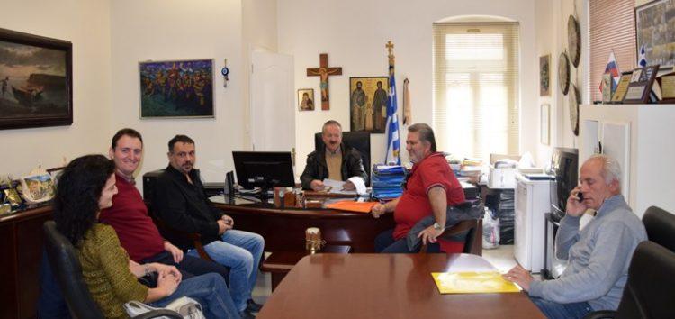 Συνάντηση του δημάρχου Φλώρινας με εκπαιδευτικούς και γονείς του 3ου δημοτικού σχολείου Φλώρινας
